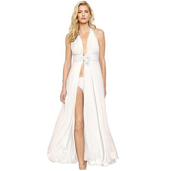 0ffd94f696 Gottex Swim   Grace Kelly Coverup Resort Bridal   Poshmark